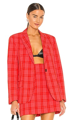 Plaid Blazer MSGM $780