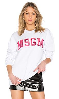 Logo Sweatshirt MSGM $137