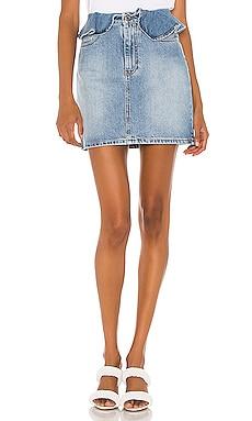 Gonna In Denim Skirt MSGM $310
