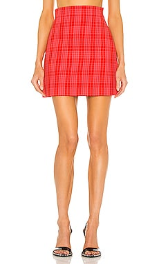 Plaid Skirt MSGM $325