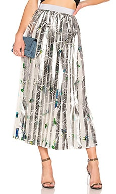 Floral Pleated Skirt MSGM $471