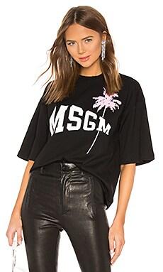 CAMISETA PALM MSGM $162