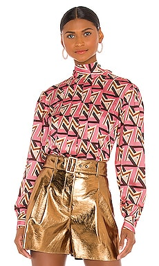 Geometric Blouse MSGM $296