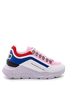 Chunky Running Lace Up Sneaker MSGM $570