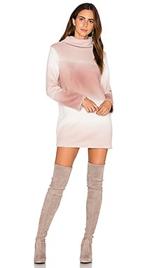Tawni Sweater Dress in Blush Ombre