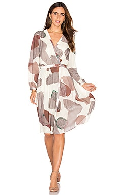 Maria Stanley Ashely Dress in Blush Print