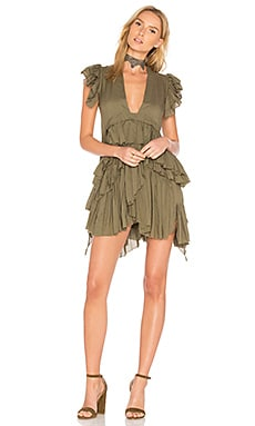 Frades Dress in Olive