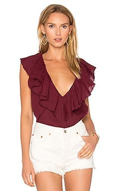 Leib Blouse in Plum