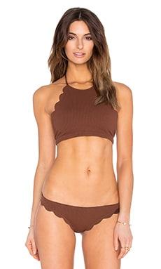 Marysia Swim Mott Bikini Top in Kava