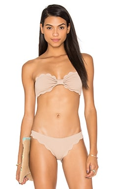 Marysia Swim Antibes Bikini Top in Sand