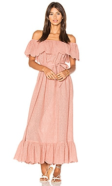 Off Shoulder Dress in Pink