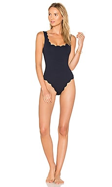 Palm Springs One Piece in Indigo & Pink