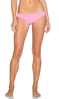 Marysia Swim Broadway Bikini Bottom in Flamingo Pink