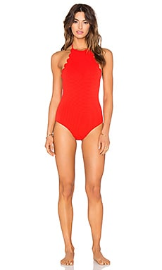 Marysia Swim Mott Swimsuit in Poppy Red