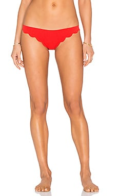 Broadway Bikini Bottom in Poppy Red
