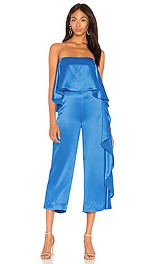 Jacqueline Cropped Ruffle Jumpsuit Mestiza New York $119 (FINAL SALE)