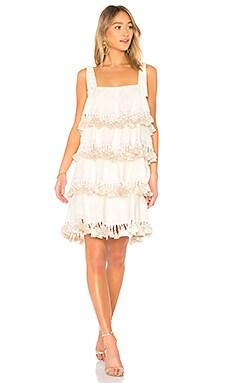 Купить Мини платье palma - Mestiza New York, Белый, США, Ivory