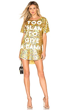 Too Glam To Give A Damn Dress MuaMuaDolls $459
