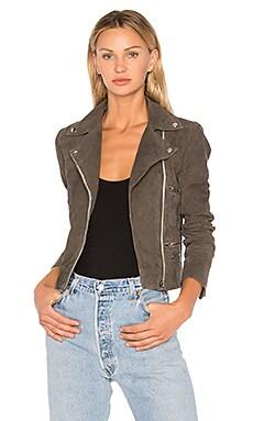 Flint Suede Moto Jacket
