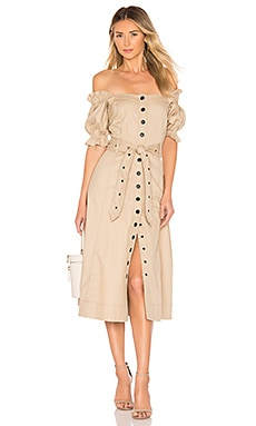 Charlize Canvas Dress Marissa Webb $368