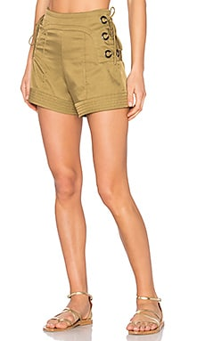 Marie Shorts in Olive
