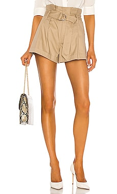 Dixon Paper Bag Lightweight Canvas Short Marissa Webb $275