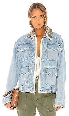 Coleman Denim Field Jacket Marissa Webb $315
