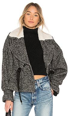 Annalise Herringbone Boucle Jacket Marissa Webb $294