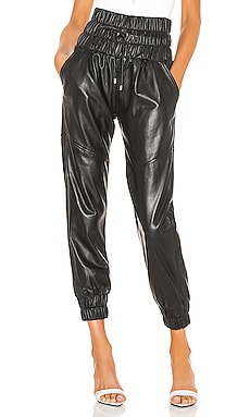 Dalton Leather Joggers Marissa Webb $645 Collections