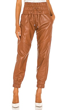 Dalton Leather Jogger Marissa Webb $645 Collections