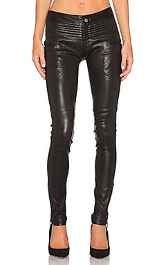 New Binta Leather Moto Pant