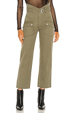 Thomas Heavy Canvas Pant Marissa Webb $375 NEW