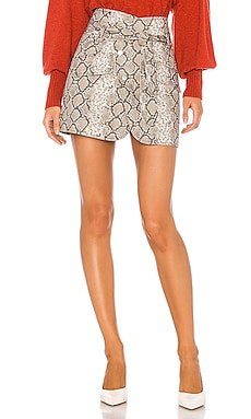 Katrina Print Canvas Skirt Marissa Webb $145