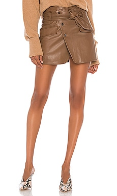 Katrina Leather Skirt Marissa Webb $425
