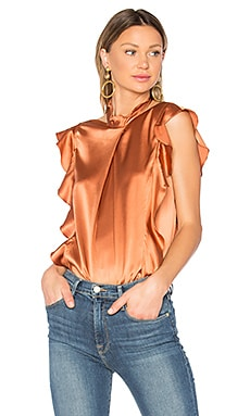 Sharon Blouse in Amber