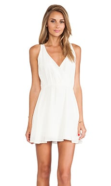Myne Leon Mini Dress in Ivory