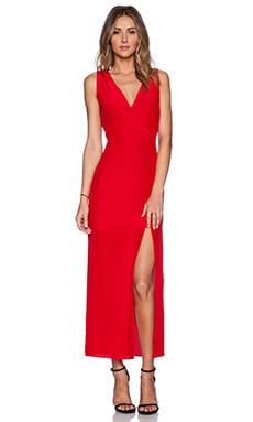 Myne Dawn Maxi Dress in Poppy