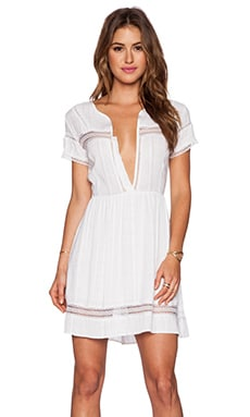 Myne Shore Dress in White