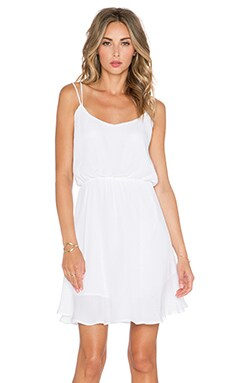 Myne Rose Dress in White