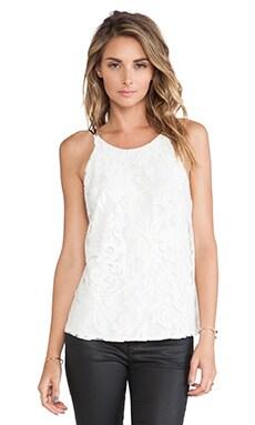 Myne Naomi Tank in White Lace
