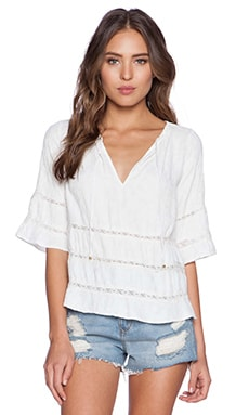 Myne Rosalie Top in White