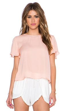 Myne Sand Crop Top in Seashell