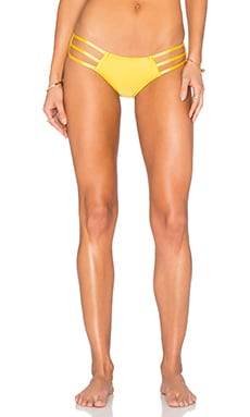 My Own Summer Ipanema Bikini Bottom in Yellow Rope