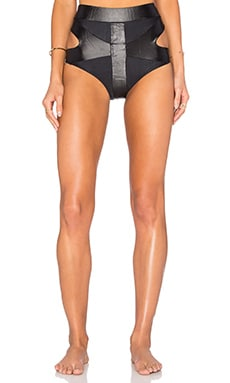 My Own Summer San Andres Cutout Bikini Bottom in Black
