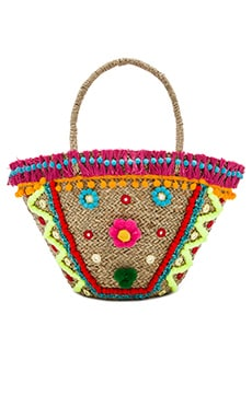 Mystique Fringe Bag in Multi