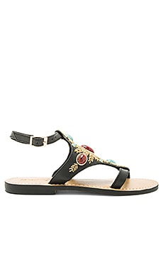 Sandal in Black Combo