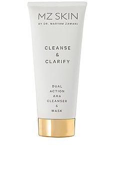 Cleanse & Clarify Dual Action AHA Cleanser & Mask MZ Skin $92