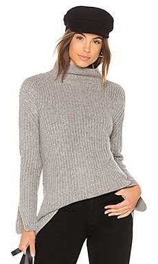 Mock Neck Cashmere Sweater
