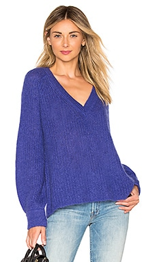 Alute Deep V Sweater NAADAM $127