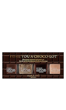I Like You A Choco Lot Quad NAILS.INC $22 BEST SELLER